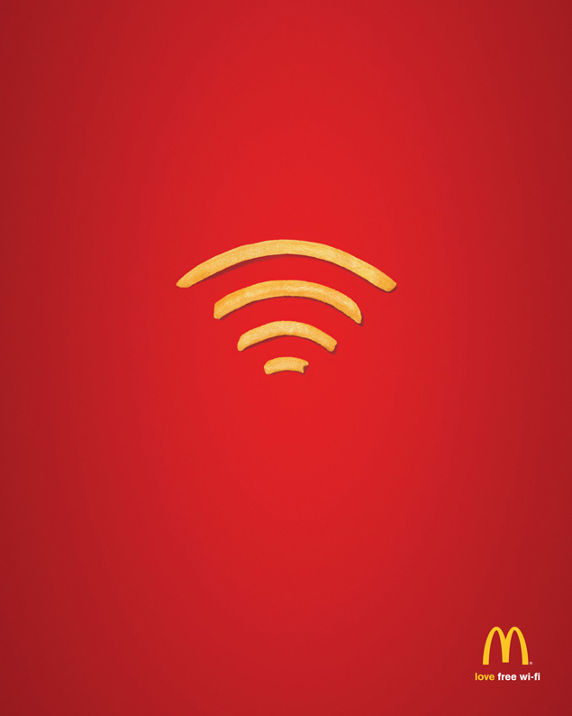 Wi-Fries – McDonald's