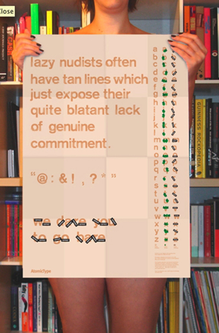 Nudistposter